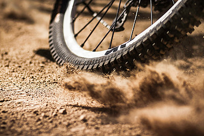 Bicycle tire - p429m884078 by Manuel Sulzer