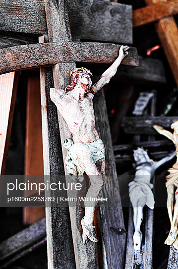 Crucifixes  - p1609m2253789 by Katrin Wolfmeier