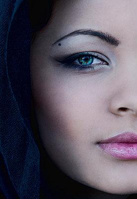 Portrait - p1445m1510280 by Eugenia Kyriakopoulou
