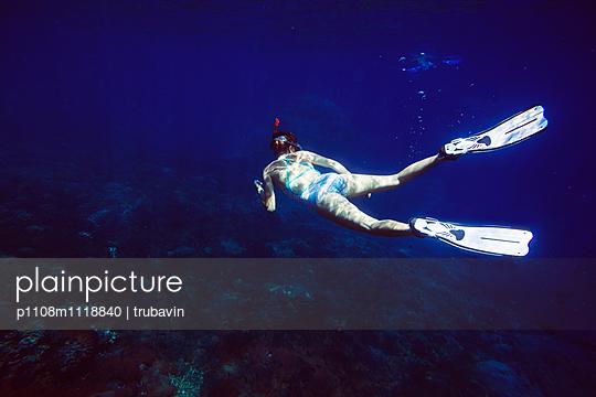 Snorkeling in Indian ocean - p1108m1118840 by trubavin