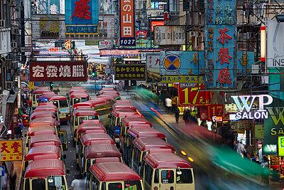 Traffic in Hong Kong - p719m954113 by Rudi Sebastian