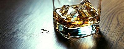 Glass of whiskey - p8510200 by Lohfink