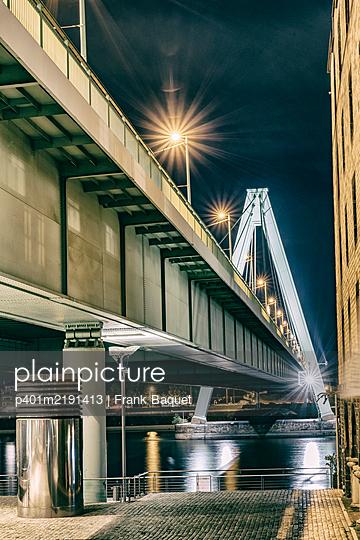 Severinsbrücke Köln - p401m2191413 von Frank Baquet