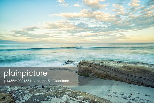 Windansea Beach. La Jolla, California, USA. - p1436m2021551 by Joseph S. Giacalone