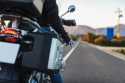 Motorcycling greetings - p1165m1541057 by Pierro Luca