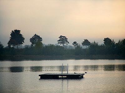 Bathing lake - p476m2043864 by Ilona Wellmann