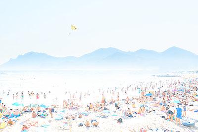 Strandleben in Cannes - p851m1214842 von Lohfink
