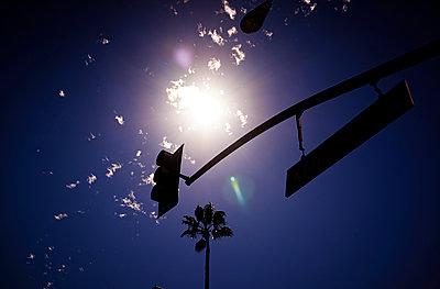 Sun at blue sky - p584m960514 by ballyscanlon