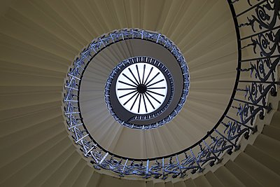 Staircase, The Tulip Staircase - p1399m1442194 by Daniel Hischer