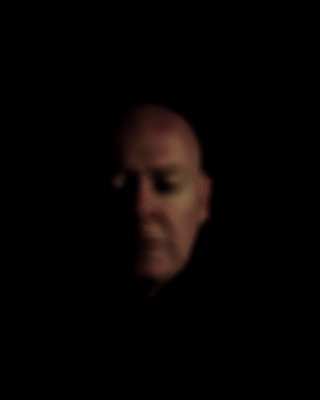Portrait of a bald man - p445m1527821 by Marie Docher