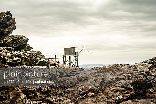 Fischerhütte an der Atlantikküste - p1275m2141634 von cgimanufaktur