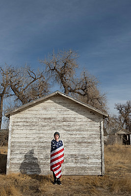 Little patriot - p1262m1215963 by Maryanne Gobble