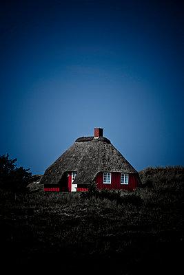 Rotes Reethaus - p248m952897 von BY
