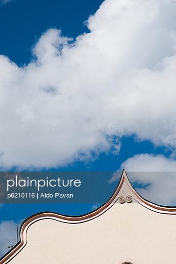 Spitzes Dach - p6210116 von Aldo Pavan