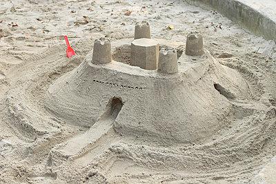 Sand castle - p5500072 by Thomas Franz