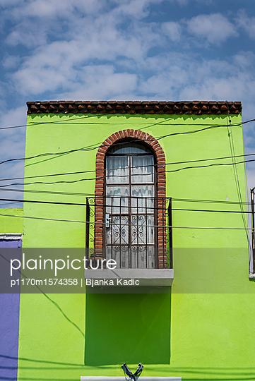 Building in Cholula - p1170m1574358 by Bjanka Kadic
