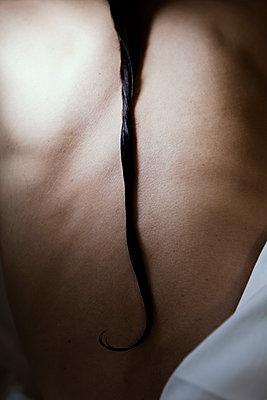 Zopf und Rücken - p1338m2026642 von Birgit Kaulfuss
