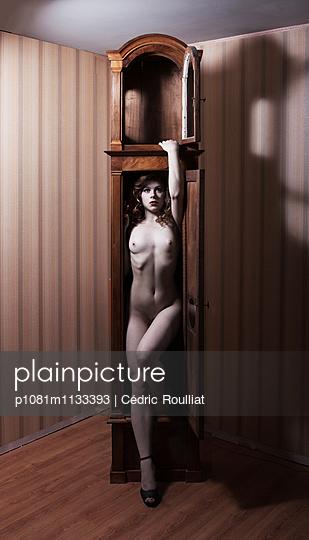 Grandfather clock - p1081m1133393 by Cédric Roulliat