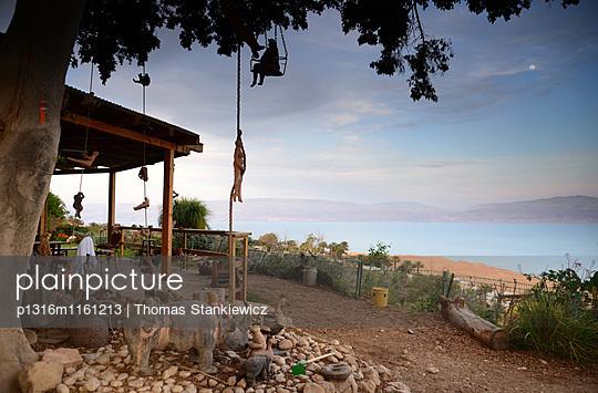 im Kibbutz Ein Gedi am Toten Meer, Israel - p1316m1161213 von Thomas Stankiewicz
