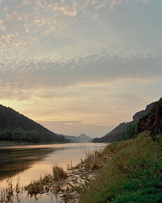 Elbe River near Schmilka - p1012m929222 by Frank Krems
