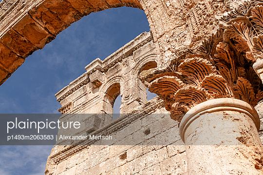 Frühbyzantinisches Kloster des Simeon, Simeonskloster, Aleppo, Syrien - p1493m2063583 von Alexander Mertsch