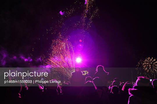 Feuerwerk - p1468m1559203 von Philippe Leroux