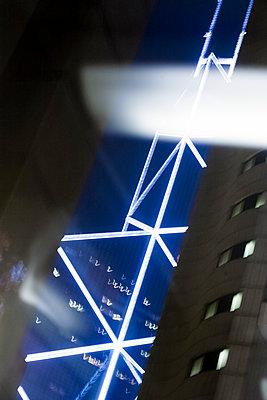 Hongkong Citylights - p1202m1061273 von Jörg Schwalfenberg