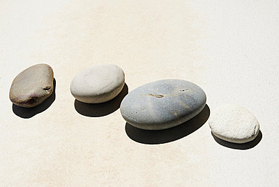 Pebbles - p9246844f by Image Source