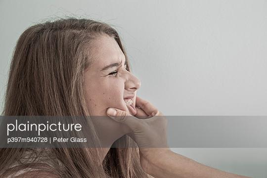 Ärgern - p397m940728 von Peter Glass