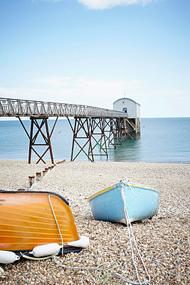 Pier with boat shed I - p464m854710 by Elektrons 08