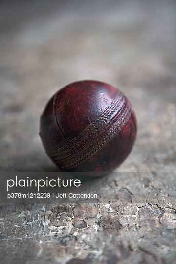 Old cricket ball