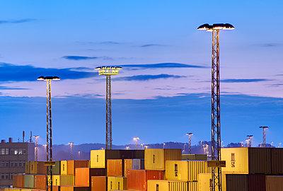 Containerterminal Bremerhaven - p1099m1515540 von Sabine Vielmo