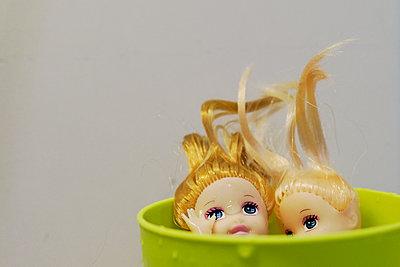 Dolls - p1105m1515369 by Virginie Plauchut