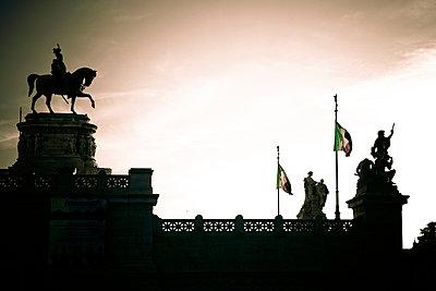 Reiterdenkmal - p401m954851 von Frank Baquet