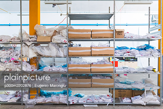 Storehouse in a factory for fencing supplies - p300m2202876 by Eugenio Marongiu