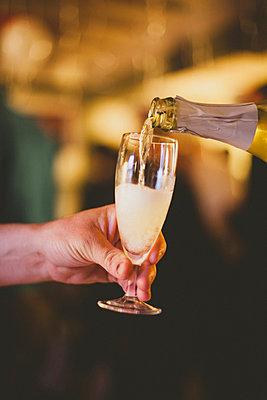 Champagne reception - p1002m918389 by christian plochacki