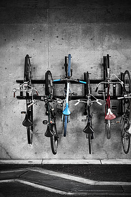 Public Bike Rack - p1280m1115409 by Dave Wall