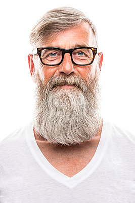 Man with beard - p890m912055 by Mielek
