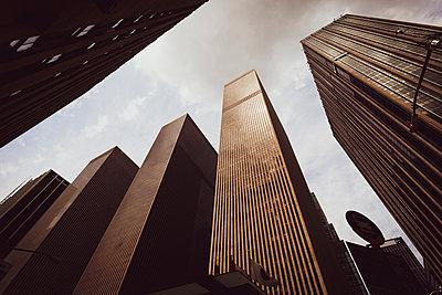Skyscrapers, Manhattan, USA - p1598m2164406 by zweiff Florian Bier