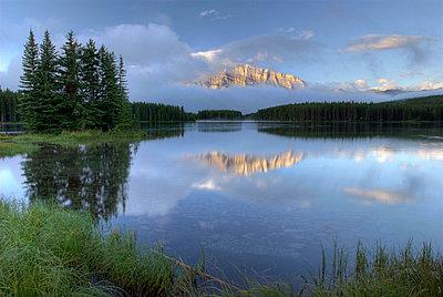 Two Jack Lake, Banff National Park, Alberta, Canada - p4428230f by Design Pics