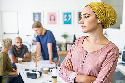 junge Leute Business/ Start up /Entwickler - p1156m1572876 von miep