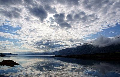 Am Fjord - p1620064 von Beate Bussenius