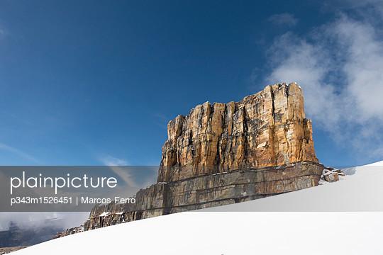 Pulpito del Diablo at Sierra Nevada del Cocuy, Boyaca, Colombia - p343m1526451 by Marcos Ferro photography