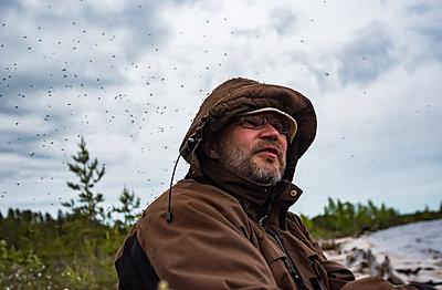 Mosquito plague - p1241m2100342 by Topi Ylä-Mononen