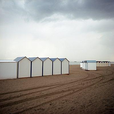 Strandhütte - p387m900830 von Patricia Eichert