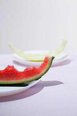 Melonenreste - p1149m1146840 von Yvonne Röder
