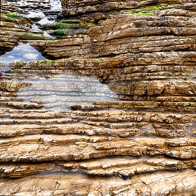 Gesteinsschichten - p1154m2134915 von Tom Hogan
