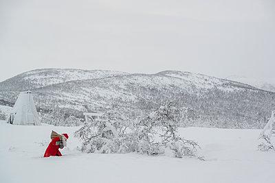 Weihnachtsmann - p1241m1116078 von Topi Ylä-Mononen