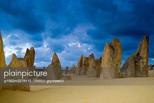 The Pinnacles Desert - p1562m2278115 by chinch gryniewicz