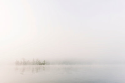 Fog over Chandos Lake - p1065m982653 by KNSY Bande